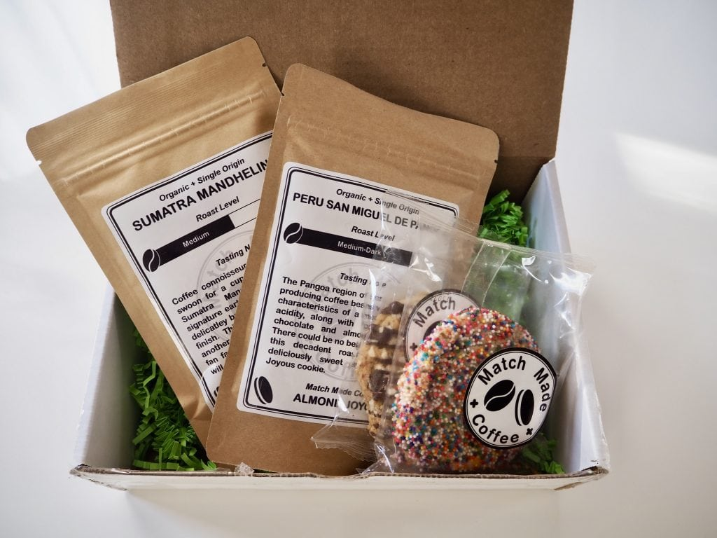 Match Made Coffee Subscription package