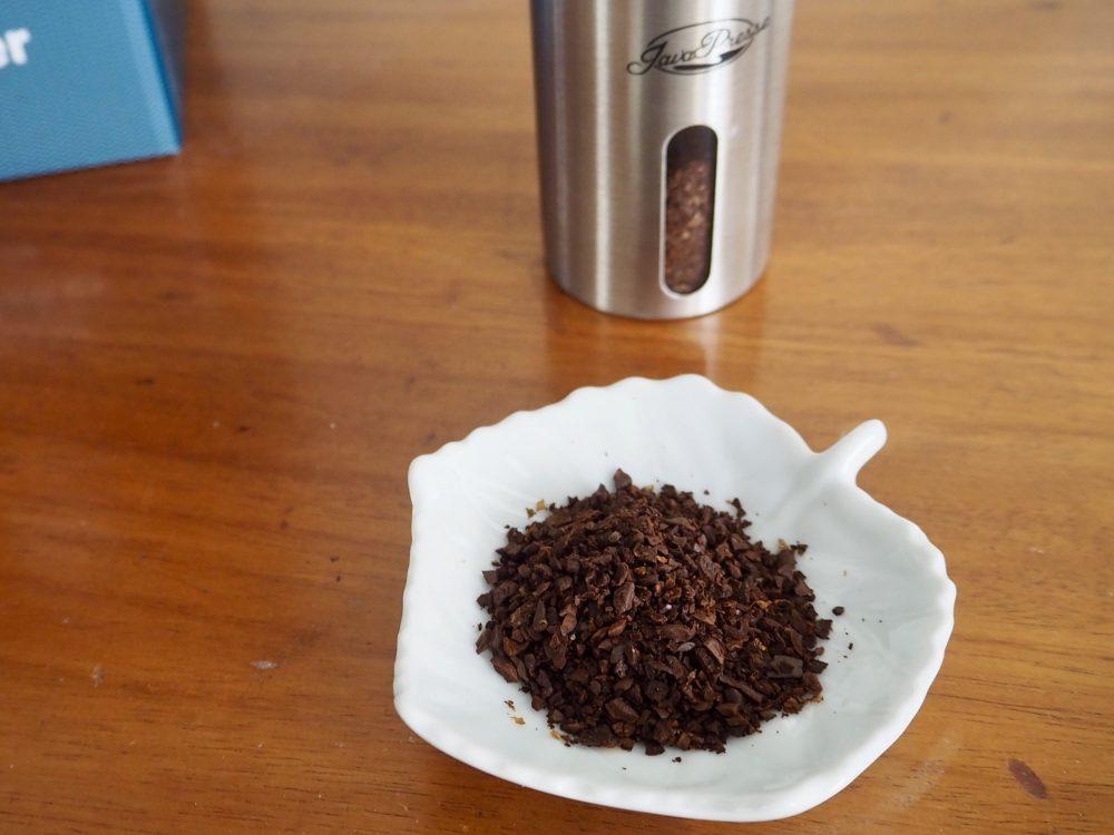 JavaPresse coffee grinds