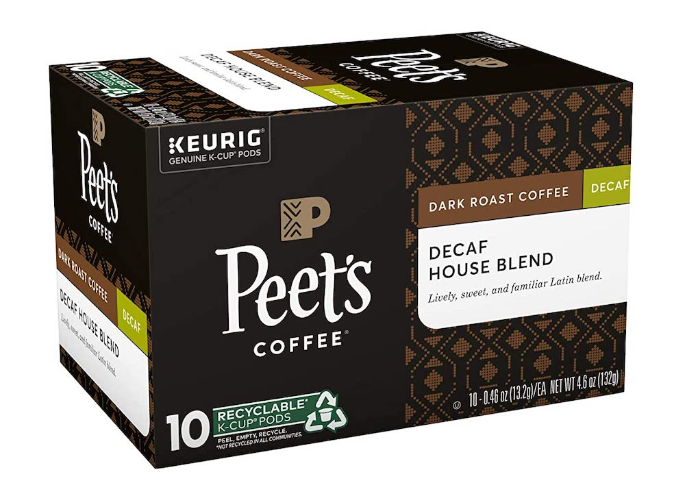 Peet's Decaf House Blend K-Cups