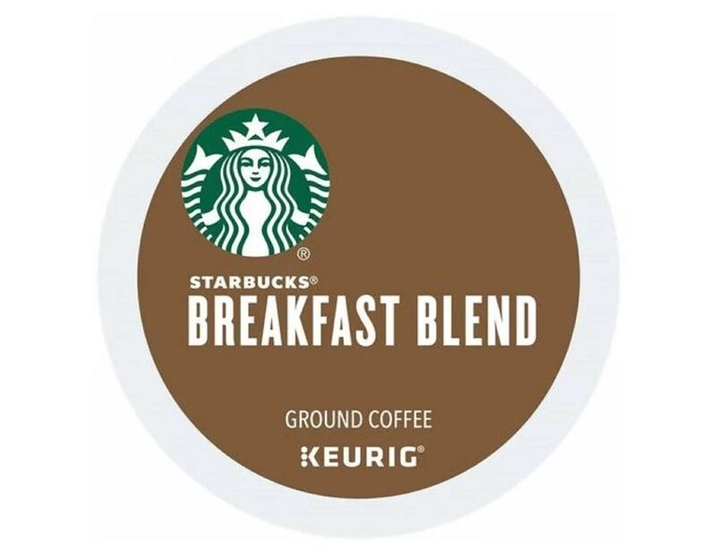 Starbucks Breakfast Blend K-Cups