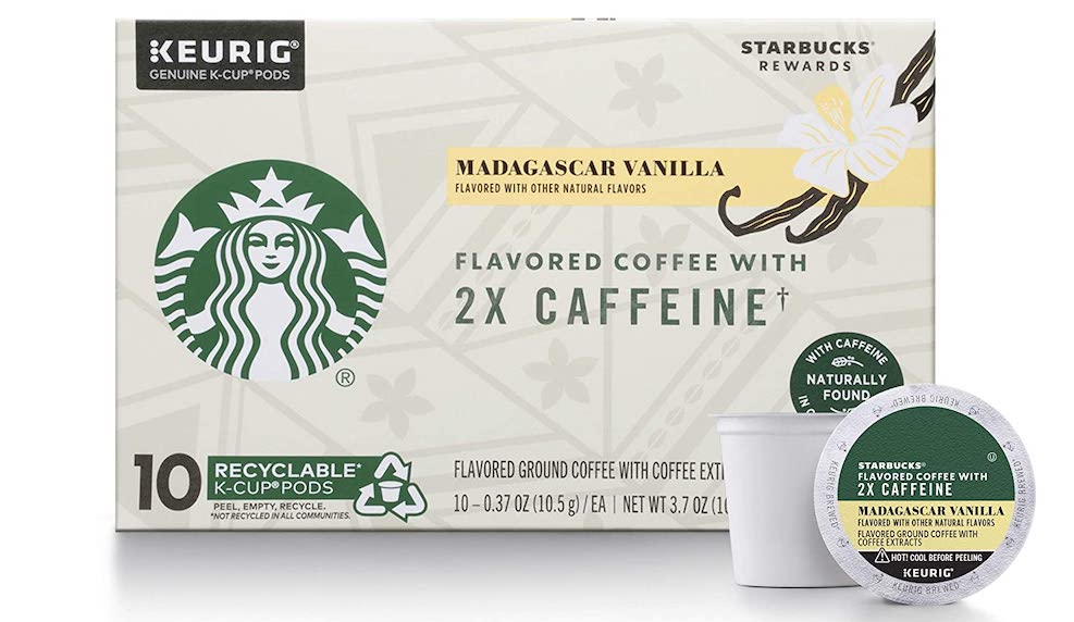 Starbucks Madagascar Vanilla K-Cups