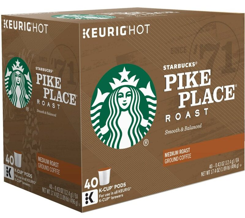 Starbucks Pike Place K-Cups