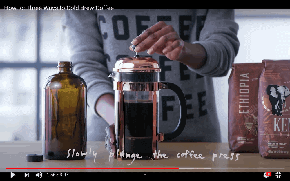 Starbucks YouTube channel