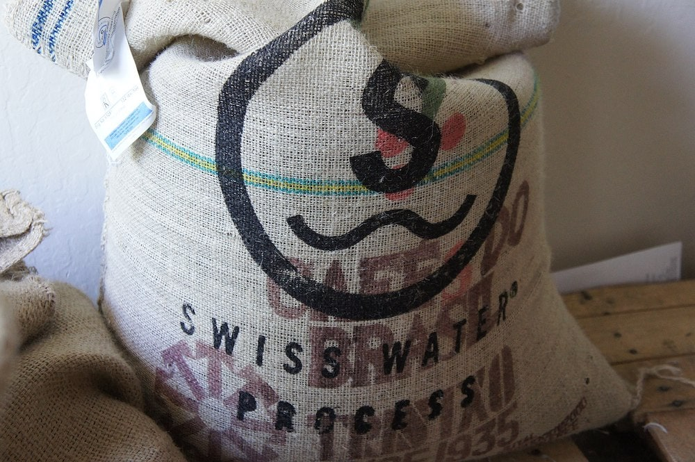Swiss Water Process coffee decaf