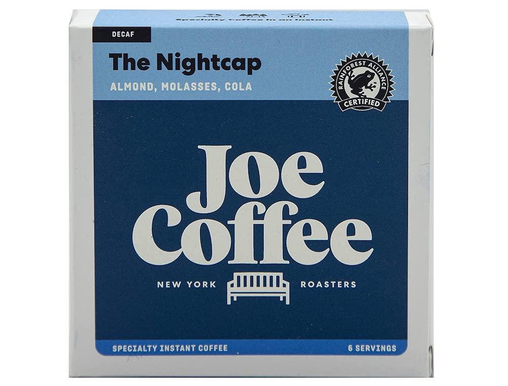 The Nightcap Joe Coffee decaf