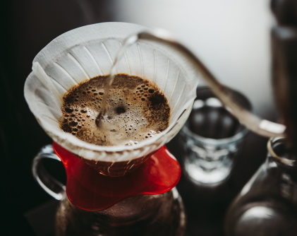 a pour over coffee maker
