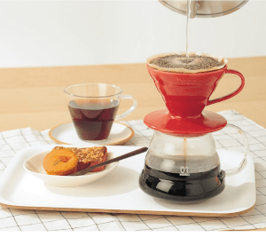 a pour-over coffee-maker