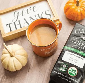 a pumpkin spice flavored coffee
