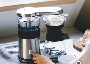 an automatic pour over coffee machine