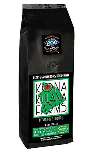 Kona Kulana Farms Estate Grown 100% Kona Coffee – Dark Roast