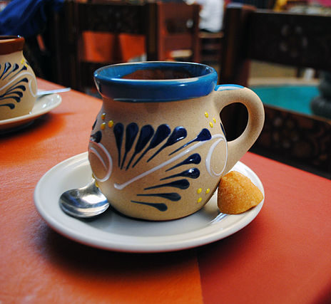 Traditional Mexican coffee mugs