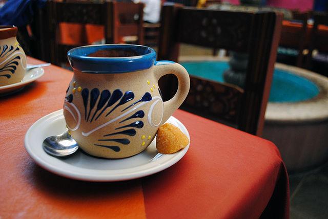 Traditional Mexican coffee mugs