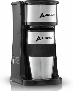 AdirChefGrab N Go Personal Single-Cup Coffee Maker