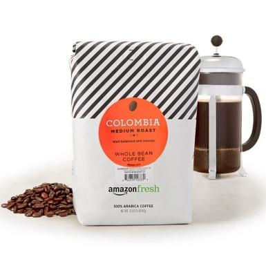 AmazonFresh Colombia Whole Bean Coffee