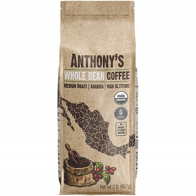 Anthonys Organic Whole Bean