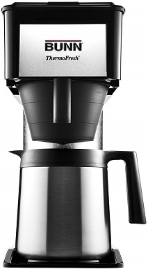 BUNN BT Velocity 10-Cup Home Drip Coffee Brewer