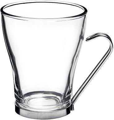 BormioliRocco Oslo Cappuccino Glass Cups (Set of 4)