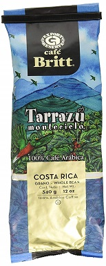 Cafe Britt Tarrazu Montecielo Whole Bean