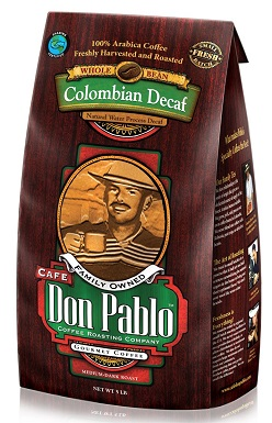 Cafe Don Pablo 5LB Decaf Swiss Water Process