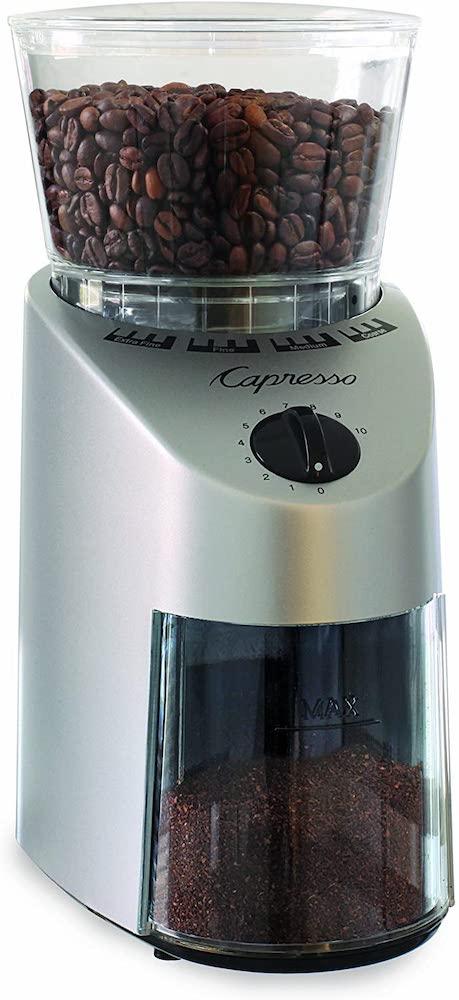 Capresso Infinity conical burr grinder