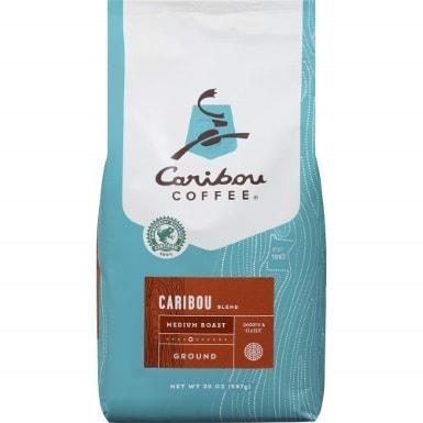 Caribou Coffee, Caribou Blend, Ground, 20 oz. bag