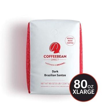 Coffee Bean Direct Dark Brazilian Santo