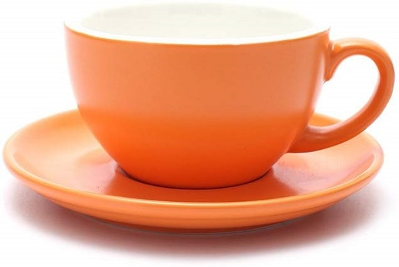 Coffeezone Double Espresso Coffee Cup and Saucer