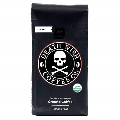 Death Wish Ground Coffee