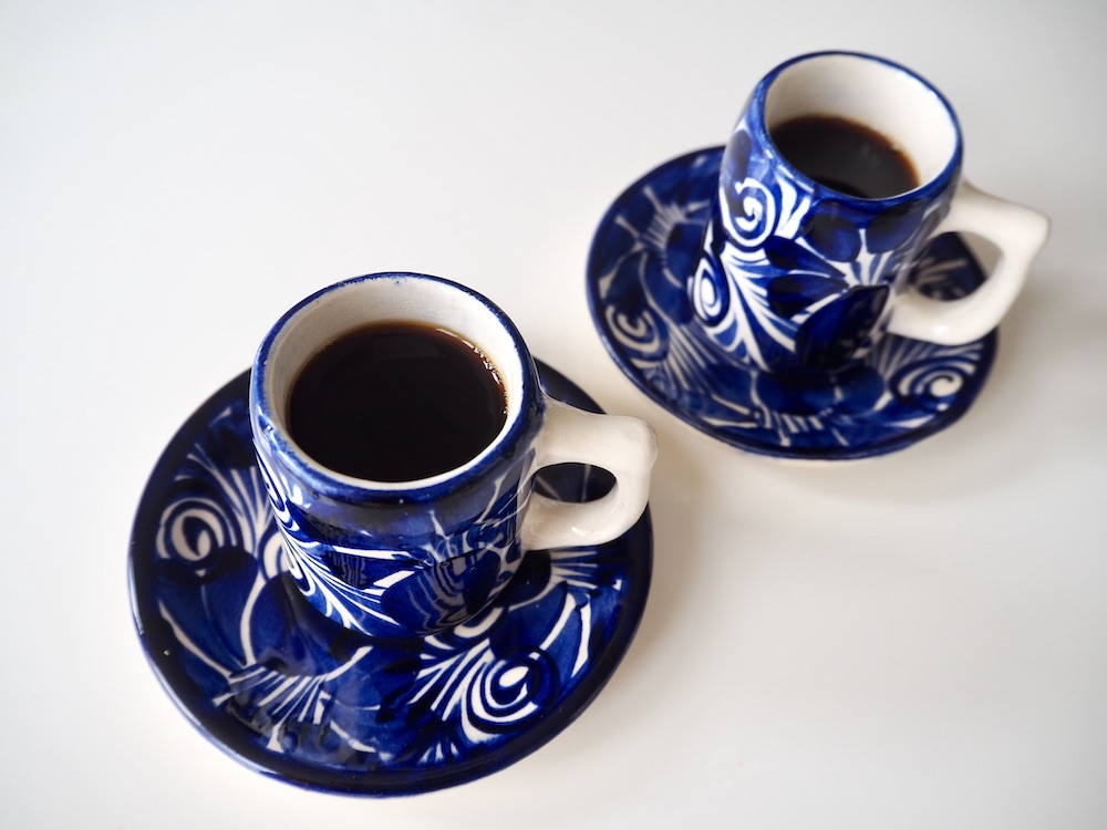 Espresso made in a drip coffee machine
