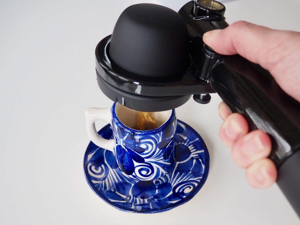 Handpresso in action