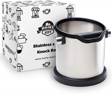 HomeDept Espresso KnockBox