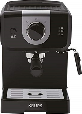 KRUPS XP3208 Small 15-BAR Espresso & Cappuccino Maker