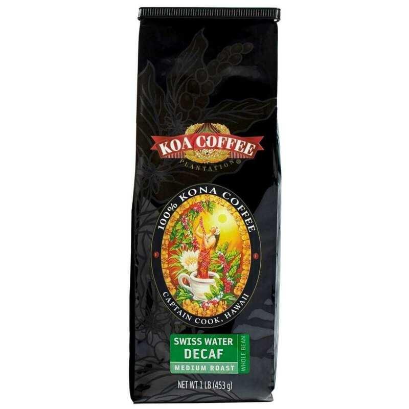 Koa Coffee swiss water decaf