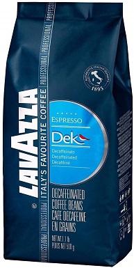 "Lavazza ""Dek"" (Whole Bean Espresso Blend)"