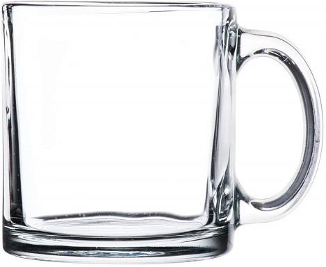Libbey Crystal Coffee Mug