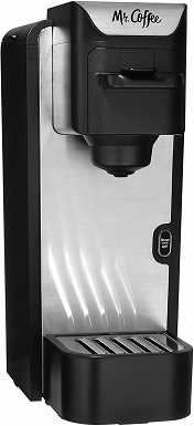 Mr. Coffee BVMC-SC100-2 Single-Serve Pod Coffee Machine