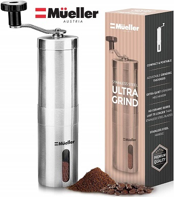 Mueller Austria Manual Coffee Grinder