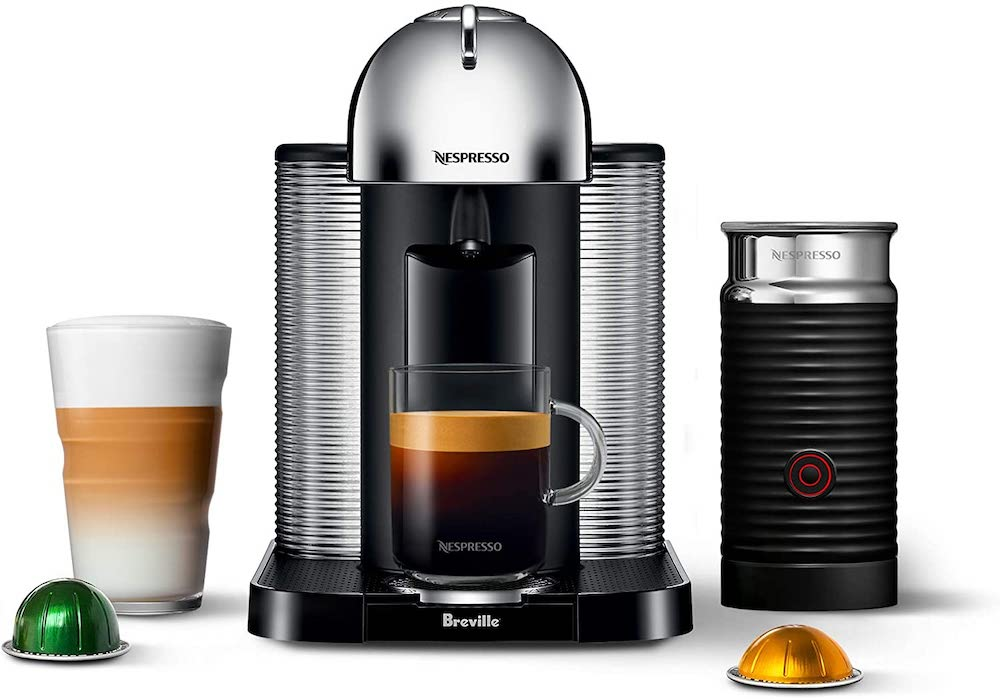 Nespresso Vertuo with Aeroccino