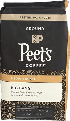 Peets Coffee Big Bang
