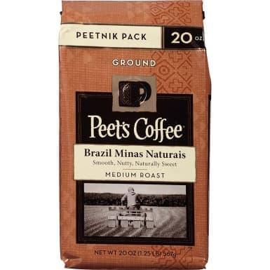 Peets Coffee Brazil Minas Naturais