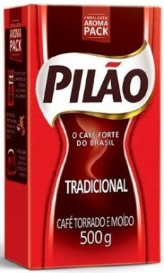 Pilao Coffee Traditional Roast and Ground