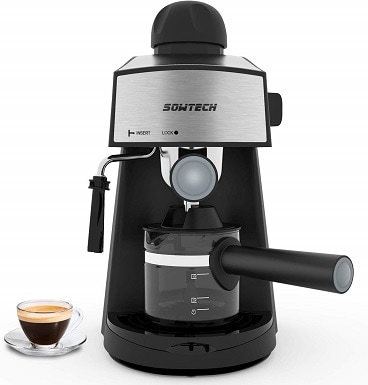 SOWTECH 3.5 Bar 4 Cup Espresso Maker