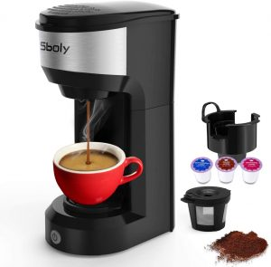 Sboly Mini single-serve coffee maker
