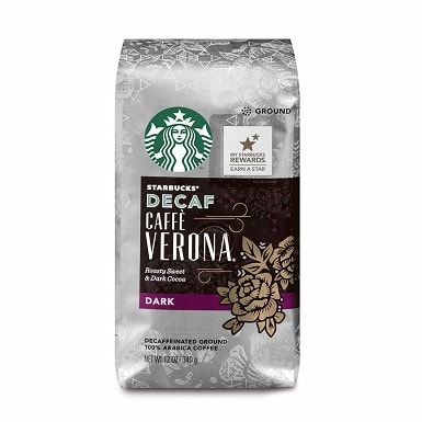 Starbucks Decaf Caffè Verona