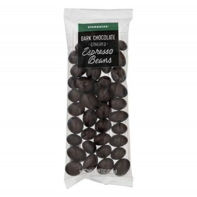 Starbucks Gourmet Dark Chocolate Covered Espresso Beans