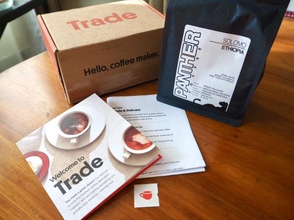 A Delicious Trade Coffee Subscription