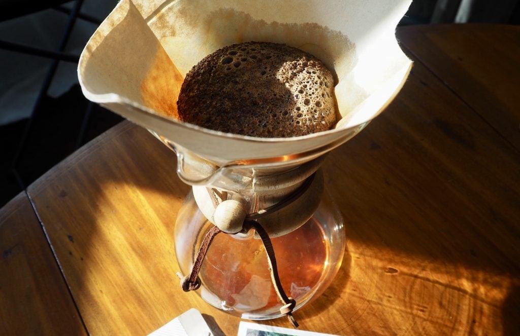 Trade coffee brewing