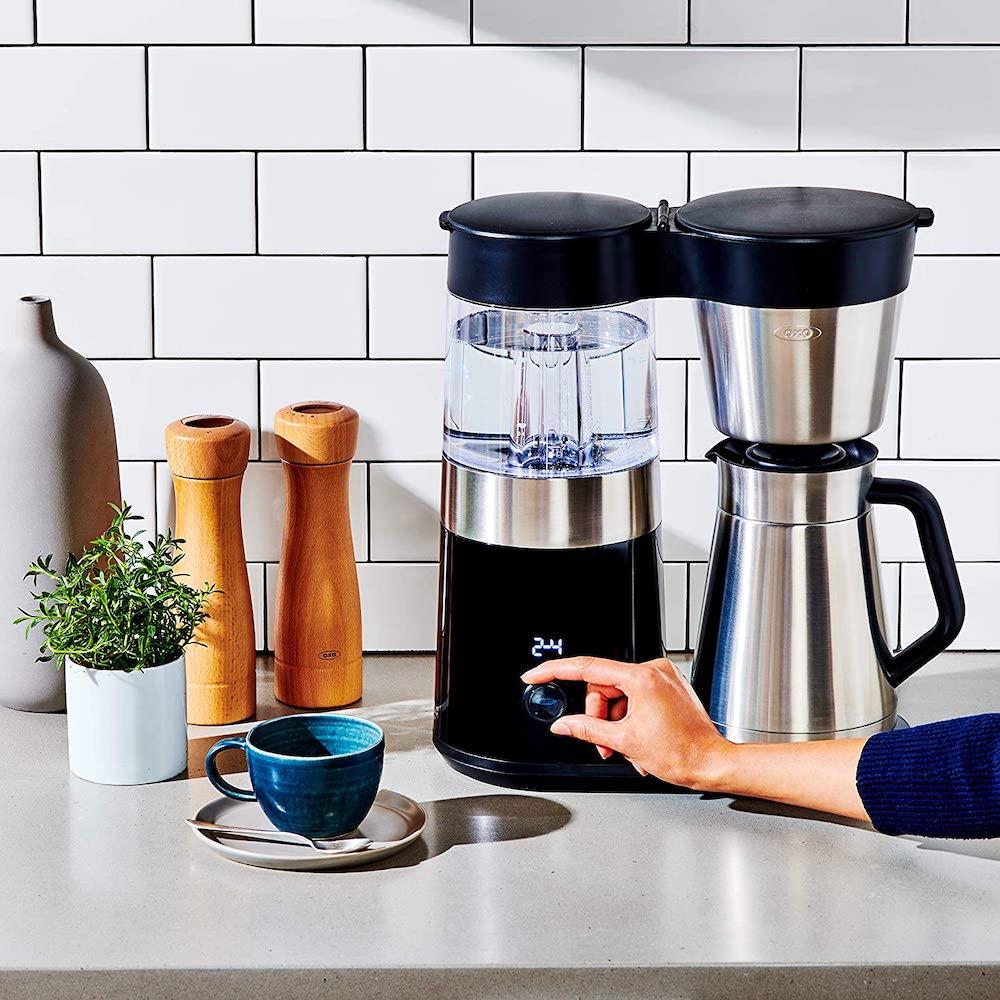 an SCAA certified coffee maker