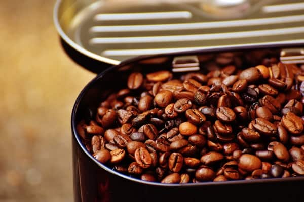 coffee beans that are ready for grinding