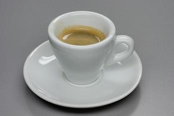 hot espresso cup
